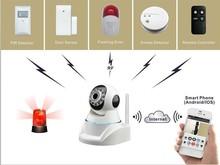 smart home wifi app alarm camera system designed for indoor diy security