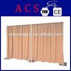 free logo Modern Portable curtain pipe and drape/adjustable pipe and drape/wedding backdrop kits