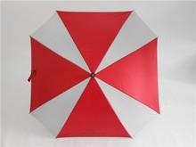 square straight umbrella curve handle