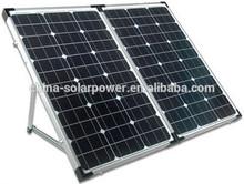 Customized Design Foldable solar panel 100W folding solar panel