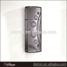 Elegant durable modern glass display cabinet