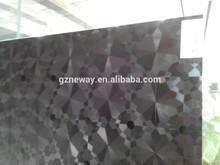 car vinyl decal/vinyl car graphics/black self adhesive car wrap with 1.22*50m