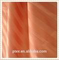 100 algodón peinado 60 * 40 173 * 105 100 '' satén tela de la raya 135gsm