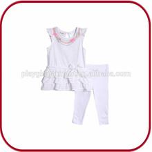 wholesales cheap children girls summer family clothing set PGGD-0604