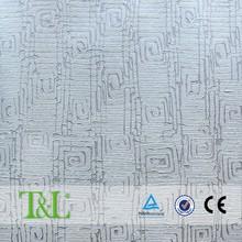 Soft blue interior design wallpaper