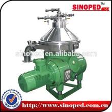 heating centrifuge separator disk bowl