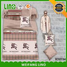 famous brands bedding set/quilt bedding sets adult/brand name bed sheets
