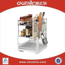 Chine matériel de cuisine industrielle ChuZhiLe design de mode armoire panier rack société de négoce CH-042