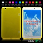 TPU soft tablet case cover Soft tablet back case for LG V500 G PAD 8.3