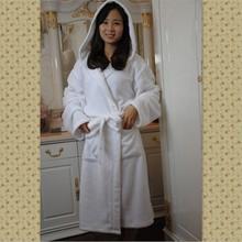Plain White Hotel OEM Hooded Arab Robes