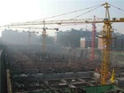 QTZ63(5013) self raising kerja tower cranes