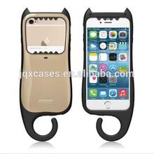 TPU Bumper Cases, Mint for iPhone 6, Anti-shock UV Coated Podopod