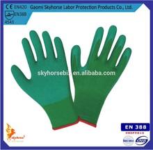 EN388 EN420 Top Quality napped rubber Fully-coated labor gloves