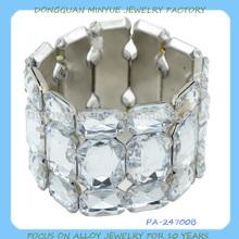 wholesale elastic wide bead bangle bracelet