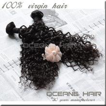 "30"" One donor hotsale raw unprocessed high quality kinky curly braiding hair"