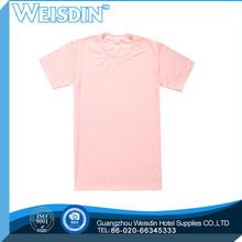 220 grams manufacter polyester/cotton children short sleeve stripe polo tshirt