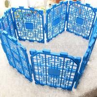 DIY Portable Plastic Pet Fence/ Plastic Pet Enclosure/ Plastic Pet Pen