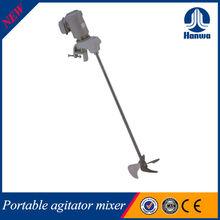 Super light high efficiency chemical liquid portable mixer