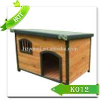 Outdoor wood dog kennel/wood dog house/modular dog kennel