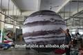 Planeta inflable modelo( globo de helio)