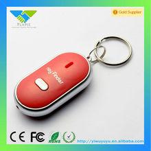 custom metal keychain metal whistle key finder smart finder key locator