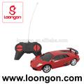 Loongon carro de controle de rádio 1:24 4 canais r / c de brinquedo