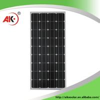 China products high quality full black mono solar panels