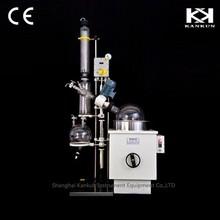 High efficency borosilicate glass vacuum destillation equipment