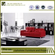 Modern design red sofa\two seats sofa