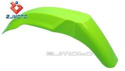 ZJ-105GN Green ZJMOTO parts ABS Plastic Supermoto Mudguard Front Fender Fit for YZ WR XR CRF KLX KX RM RMZ DR DRZ 250 450
