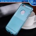 espaço capa shell para iphone 6 caso tpu com furo logo