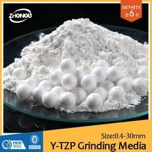 OCD zirconia yttria stabilized grinding media/paint spray/ball mill,sand mill,basket mill