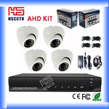 AHD Dome 4CH Complete Cctv Camera Set