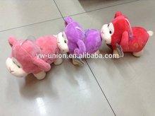 bowknot stuffed sheep coloured sheep toys stuffed purple sheep soft lambs toys