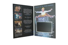 video greeting card, video brochure, lcd video brochure card