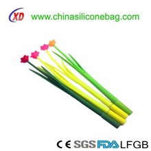Promotional Novelty pen/ flower silicone pen