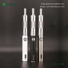 Huge Vapor E Cigarette android USB battery GS PTS01 Micro 5-Pin china supplier new arrival dry herb