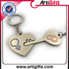 stable quality fashion letters metal key ring