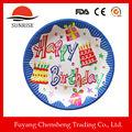 Gâteaux d'anniversaire images gâteau outils papier vaisselle plaque de gâteau conseils Type et jetable, Écologique, En stock pour fête d'anniversaire