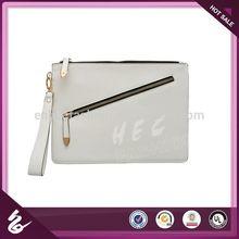 China Lead Manufacture Plain Canvas Clutch Bag