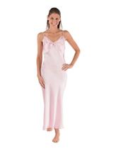 Mujeres de largo camisón de seda 100% de seda elegante regalo, Sexy y cómodo mujeres de pijama de seda