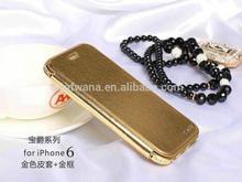 2014 New Arrival Fashion design Genuine Leather iphone case for iphone 6 and for iphone 6 case