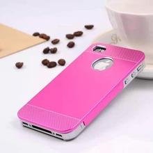 2015 New Design For Apple iphone 4 4s pp+Aluminum Case