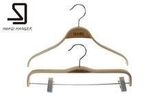 Plywood garment hangers cloth hanger pants hanger