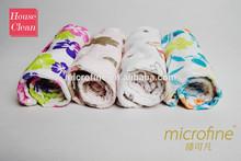 microfiber printing hair drying cap