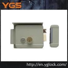 Electric security remote control waterproof gate lock