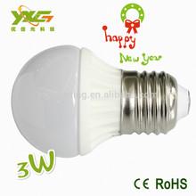 CE,RoHS approved 3 years warranty Ceramic 3w LED lightbulbs E27/E14/E26/B22 /