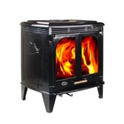 cast iron wood fireplace HF-577D with boiler option