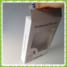paper gift box for towel, paper box with window