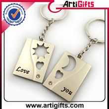 Promotional metal swimming club key ring custom